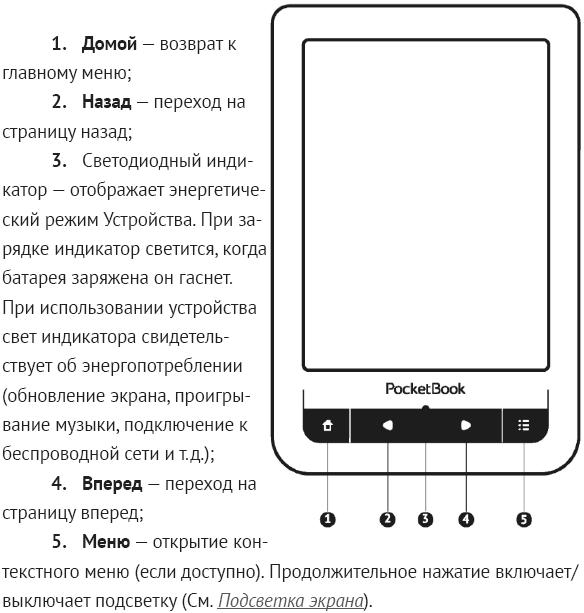 PocketBook 623 Touch 2 белый