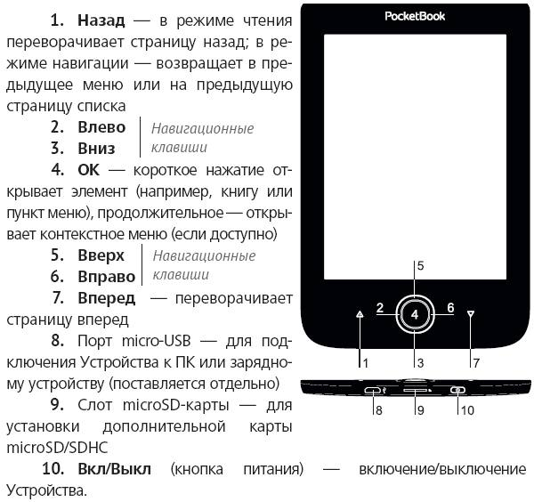 PocketBook 614 Basic 2 серый