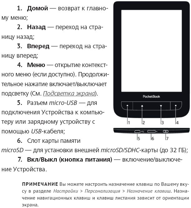 PocketBook 626 Touch Lux 2 белый