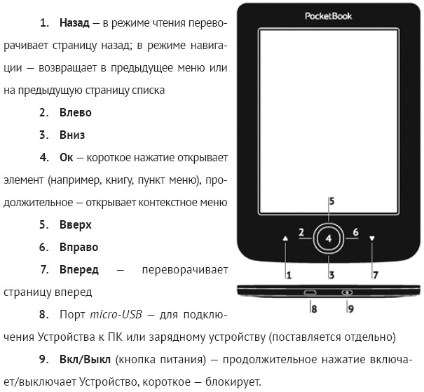 PocketBook 515 белый