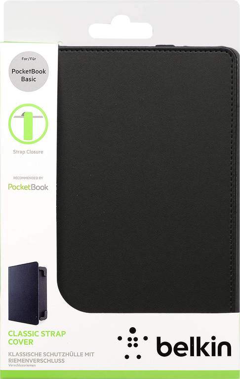 Чехол для PocketBook 611/613 Belkin черный
